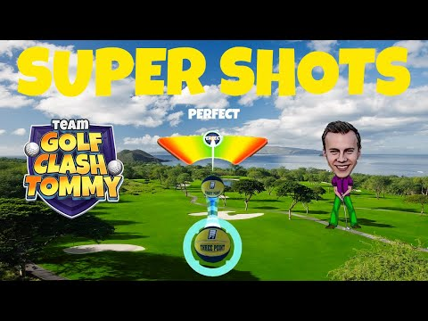 Golf Clash shots, Putt it in for an albatross! Featuring Hen