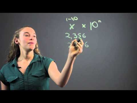 How to Write in Standard Form for Scientific Notation