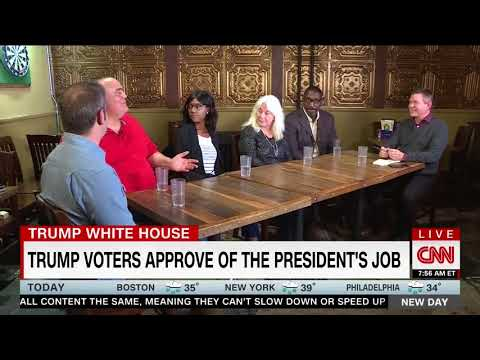 """Ohio Voters Praise Trump's First Year: He Is Doing """"Better Than I Ever Would Have Dreamed"""""""