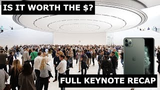 Apple Event 2019 Keynote Recap! Is it worth the money this time?