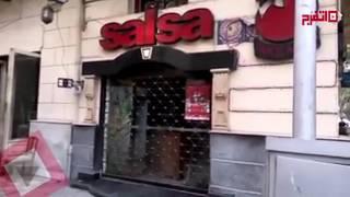 اتفرج| قوات الأمن تغلق مقاهي وسط البلد في ذكرى أحداث