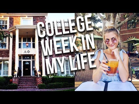 college week in my life: usc