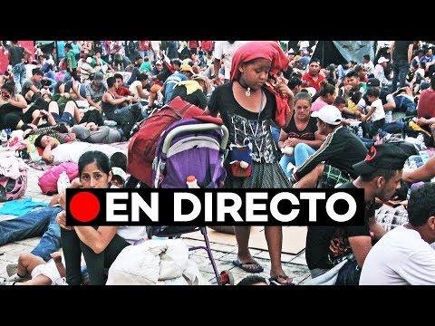 EN DIRECTO: La caravana de migrantes llega a Oaxaca (México) y se dirige a EE.UU.