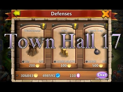 Castle Clash - Town Hall 17