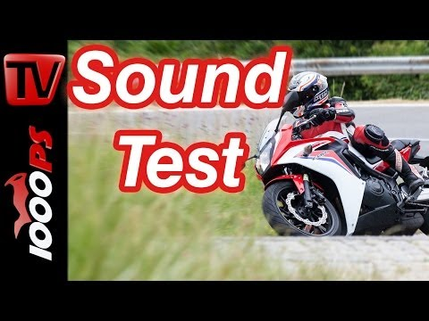 Soundvideo | Honda CBR 650 F | 4-Zylinder Sound