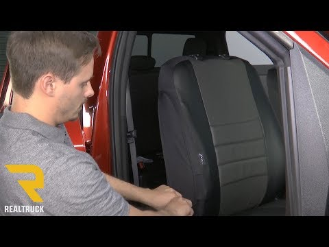 How to Install Fia Leather Lite Seat Covers