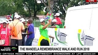 Thousands participate in the Mandela Remembrance Walk & Run thumbnail