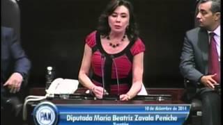 Dip. Beatriz Zavala (PAN) - Desindexación del Salario Mínimo