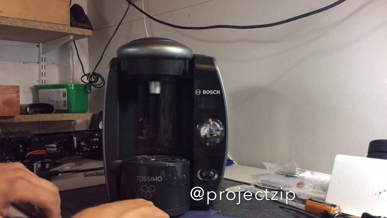 Bosch Tassimo Nozzle  Piercing unit  Cleaning and disassembly (Dual Red Light) Coffee Machine
