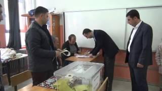 Siverek Belediye Başkanı Resul Yılmaz Oyunu Kullandı