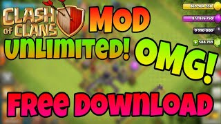 How to download clash of clans mod | unlimited everything | free download