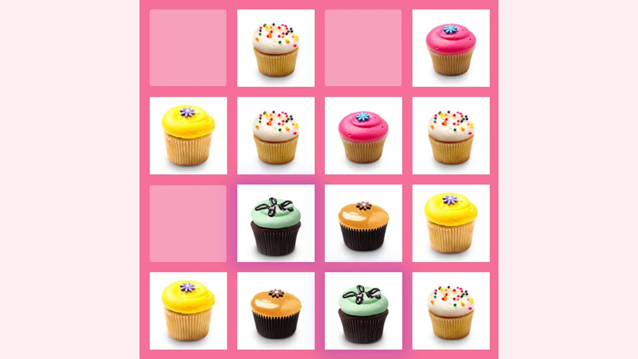 How To Play 2048 Cupcakes Game