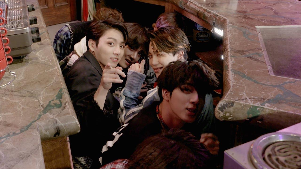 BTS Scares Fans on 'Friends' Set