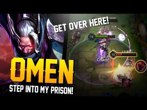 Arena of Valor [Test Server] - STEP INTO MY PRISON!! Omen Gameplay