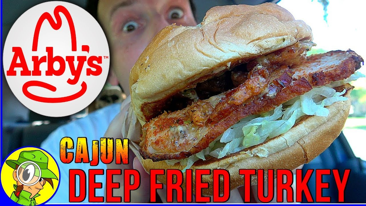 Arby's® | Cajun Deep Fried Turkey Sandwich | Food Review ...