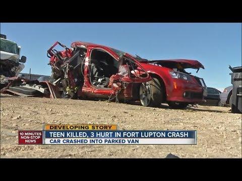Boy killed, 3 other teens hurt in Fort Lupton crash