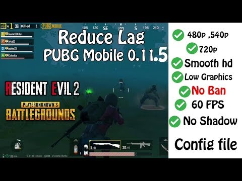 PUBG Mobile 0.11.0 Reduce Lag , Glitch , Bug For Phoenix OS  | Smooth HD Graphics 60Fps
