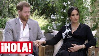 El príncipe Harry y Meghan Markle anuncian que el bebé que esperan es...