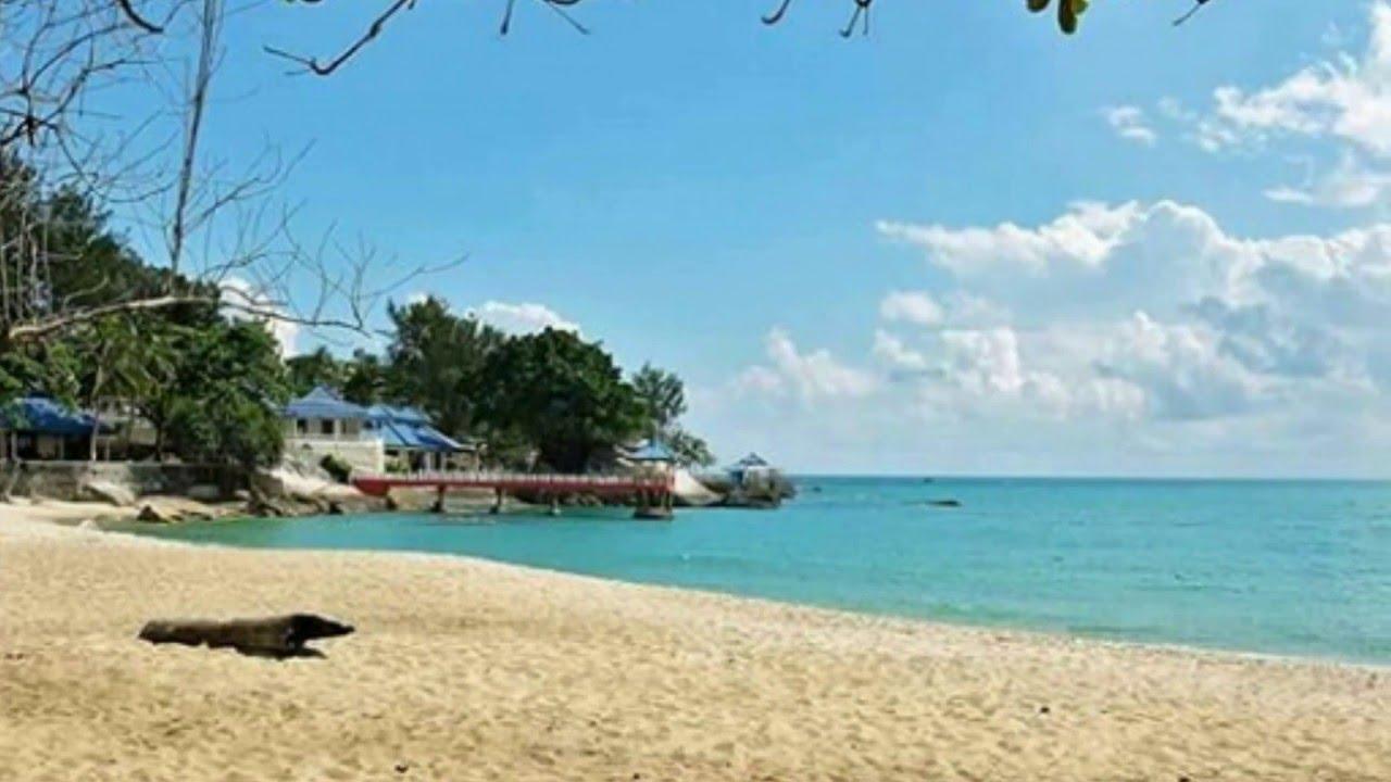 Tanjung Pesona Beach Bangka Indonesia Pantai Tanjung Pesona