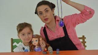 Принцеса Софія і ЧАРІВНИЙ АМУЛЕТ Розпаковка Sofia Magic Amulet Sofia the First