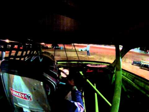 Sumter Speedway Car Number 15j in car cam