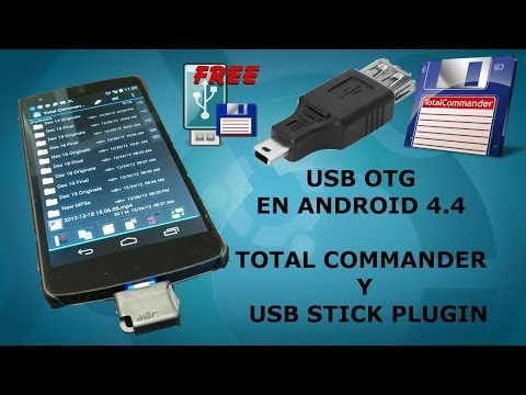 Conectar USB por OTG usando Total Commander + USB Stick Plugin from YouTube · Duration:  4 minutes 20 seconds