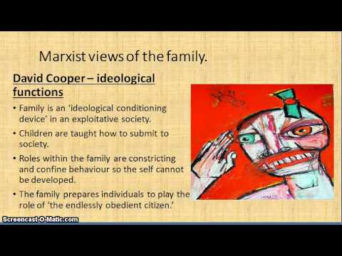 Marxist theory of the family screencast