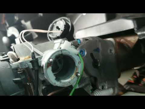 1998-2003 Buick Regal Ignition switch and key cylinder removal