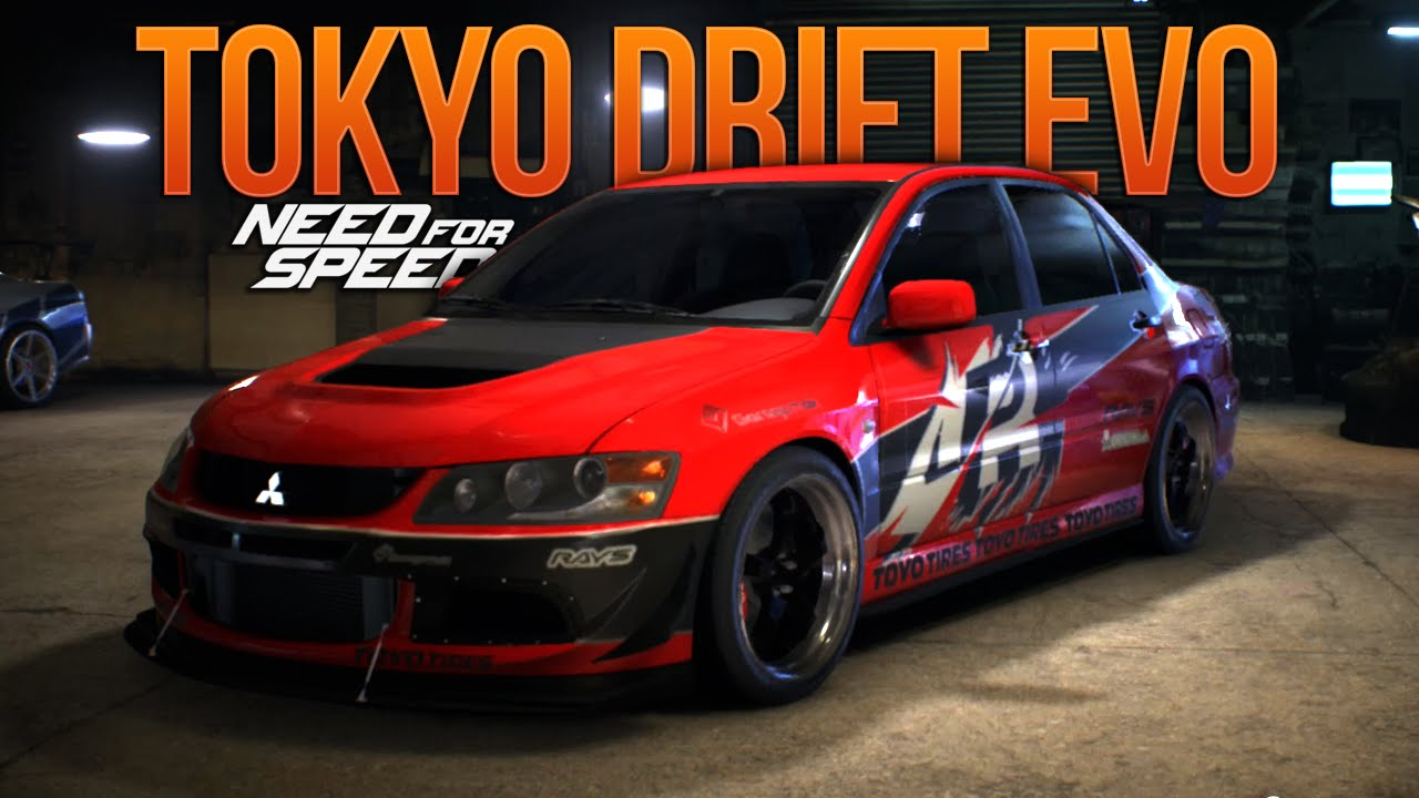 Fast And Furious 6 Doms Car Wallpaper Need For Speed 2015 Tokyo Drift Evo Fast And Furious Nfs