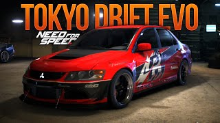 Need for Speed 2015 TOKYO DRIFT EVO (Fast and Furious NFS Showcase)