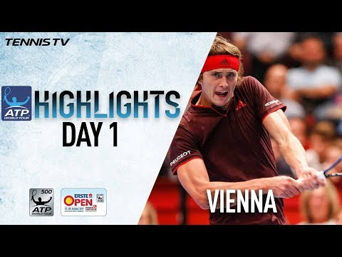 Highlights: Zverev Holds On In Vienna 2017 Opener