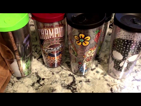 Tervis tumblers - for cold or hot drinks