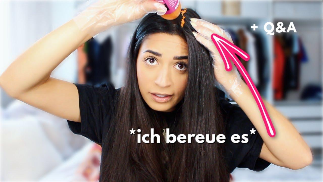 Kontakt zu anderen YouTube Kollegen..., kann ich von YT leben? + ich färbe mir die Haare *fail*