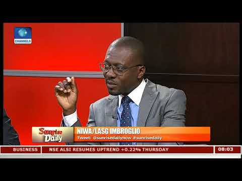 Chairman Lagos Ferry Services Disagrees With NIWA Over Appeal Court Judgement Pt.1 |Sunrise Daily|