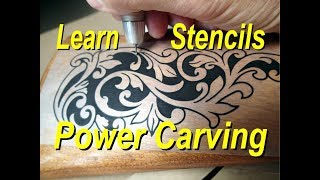 Learn Wood Carving Relief Custom engraving Power Carving  Engraver tools machine, 400xs High Speed