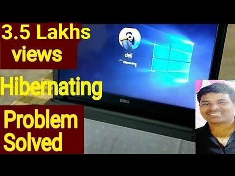 How To Solve Hibernating Problem In Laptop