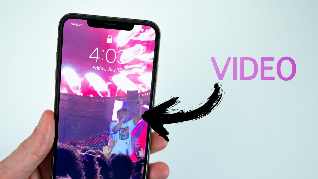 How To Set Video As Lock Screen Wallpaper On Iphone