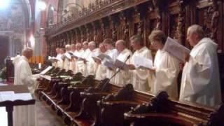 Hymnus VENI  CREATOR  SPIRITUS, Visione spartito, due versioni, SCHOLA  GREGORIANA  MEDIOLANENSIS, Dir. Giovanni Vianini, Milano, Italia