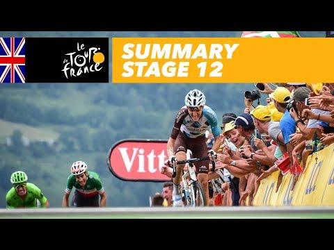 Summary - Stage 12 - Tour de France 2017