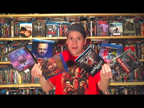 My Blu-ray Collection Update 1/7/17 : Blu ray and Dvd Movie Reviews