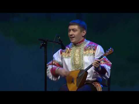"""Омский Хор. """"Барыня"""". Исполняет Илья Барашков."""