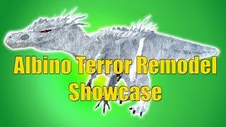 Albino Terror Showcase (REMODEL) - Roblox Dinosaur Simulator