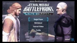 Star Wars: Battlefront - Elite Squadron | Gameplay, Customization and Space Transitions! (PSP)