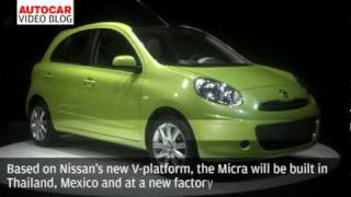 Geneva motor show: Nissan Micra by autocar.co.uk