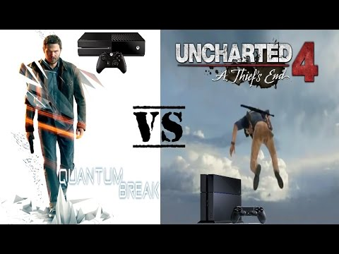 Quantum Break Xbox One Vs Uncharted 4 A Thief S End Ps4 Youtube
