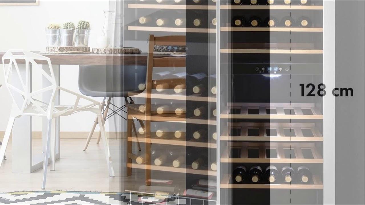 Klarstein Vinamour 54D • Weinkühlschrank • Getränkekühlschrank ...