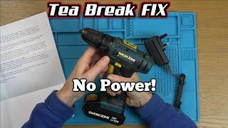 No Power on a Cordless DRILL - Tea Break Fix