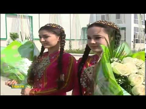 "Turkmenistan TV News ""Watan"", 25.06.2014 (Part 1)"