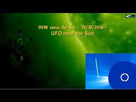 OVNI cerca del Sol - 25/10/2016 (UFO near the Sun)