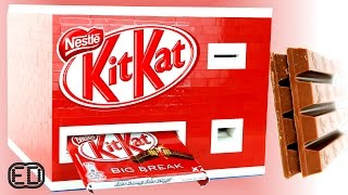 Lego GIANT KitKat Chocolate Bar Machine